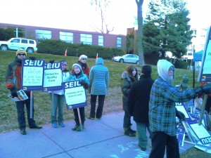 SEIU Health Care Workers Strike against Valley and Deaconess Hospital Spokane